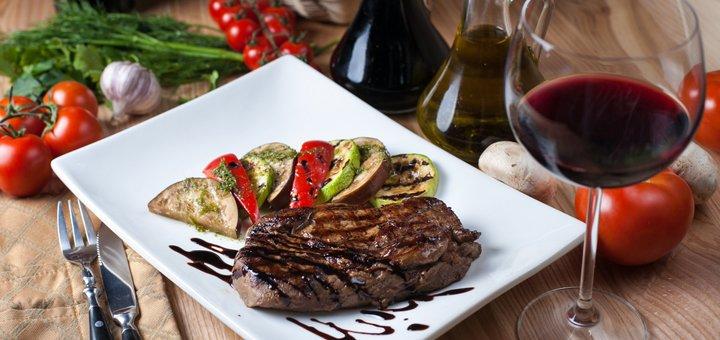 Скидка 50% на все меню кухни и 30% на вина Франции в ресторане «Jardin»