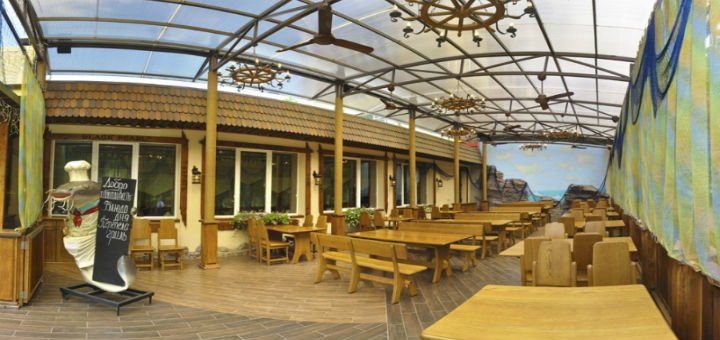 Скидка 25% на меню кухни и бара в морском ресторане «Посейдон»