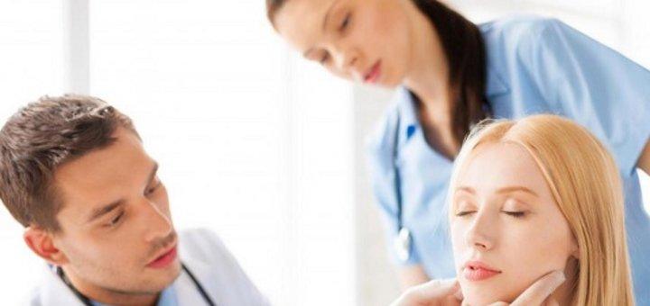"""Комплексное обследование у отоларинголога + удаление ушных пробок в медицинском центре """"МЕД+ОК""""!"""