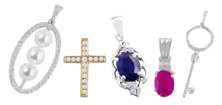 Скидка 25% на все ювелирные изделия с драгоценными камнями в интернет-магазине «14 Карат»