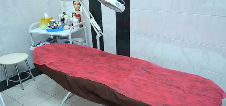 Комбинированная чистка лица в центре современной косметологии «Lazerepil»