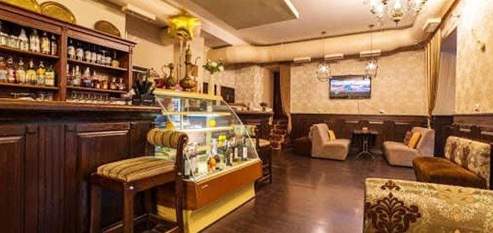 Скидка 50% на все меню кухни в ресторане «Балконъ»