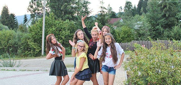 Путевка на 14 дней для ребенка в детский лагерь «Терем» в Славском